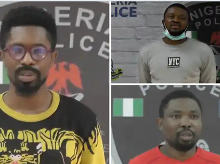 Nigeria Police Force posted picture of three suspects arrested for cybercrimes offence. (Photos)