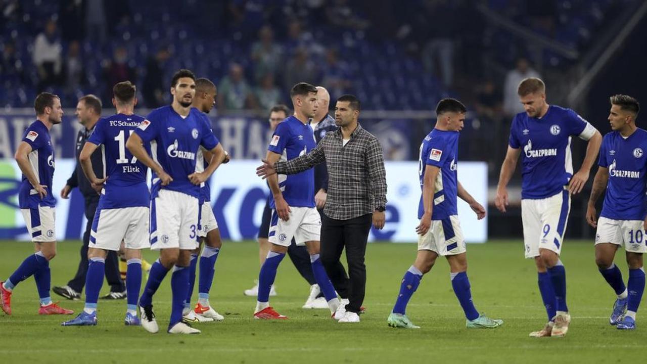 Schalke: Das sagt Grammozis zum Platzverweis von Victor Palsson