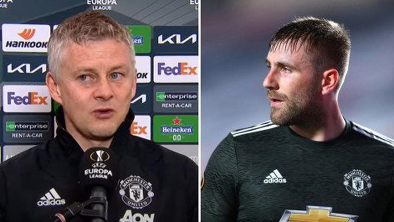 Why Solskjaer subbed off Luke Shaw during Man United's victory over Granada