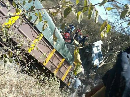 Fatal Accident Involving Two Trucks Claims One Life Along Mombasa - Nairobi Highway