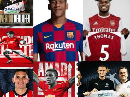 Transfer Window Closes: See All Transfers Completed Before The 11PM Deadline