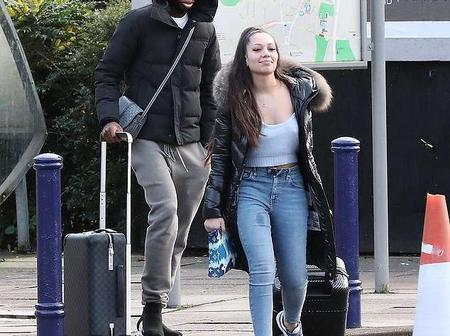 Manchester United player Aaron Wan-Bissaka steps out with a mystery woman