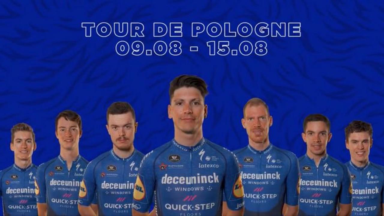 Tour de Pologne - Deceuninck - Quick Step avec Almeida et Cavagna