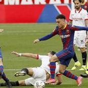 En 10 minutes, le Barça a perdu Pedri et Araujo