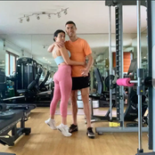 After Cristiano Ronaldo posted a photo of him and his girlfriend after a workout, See fans reactions