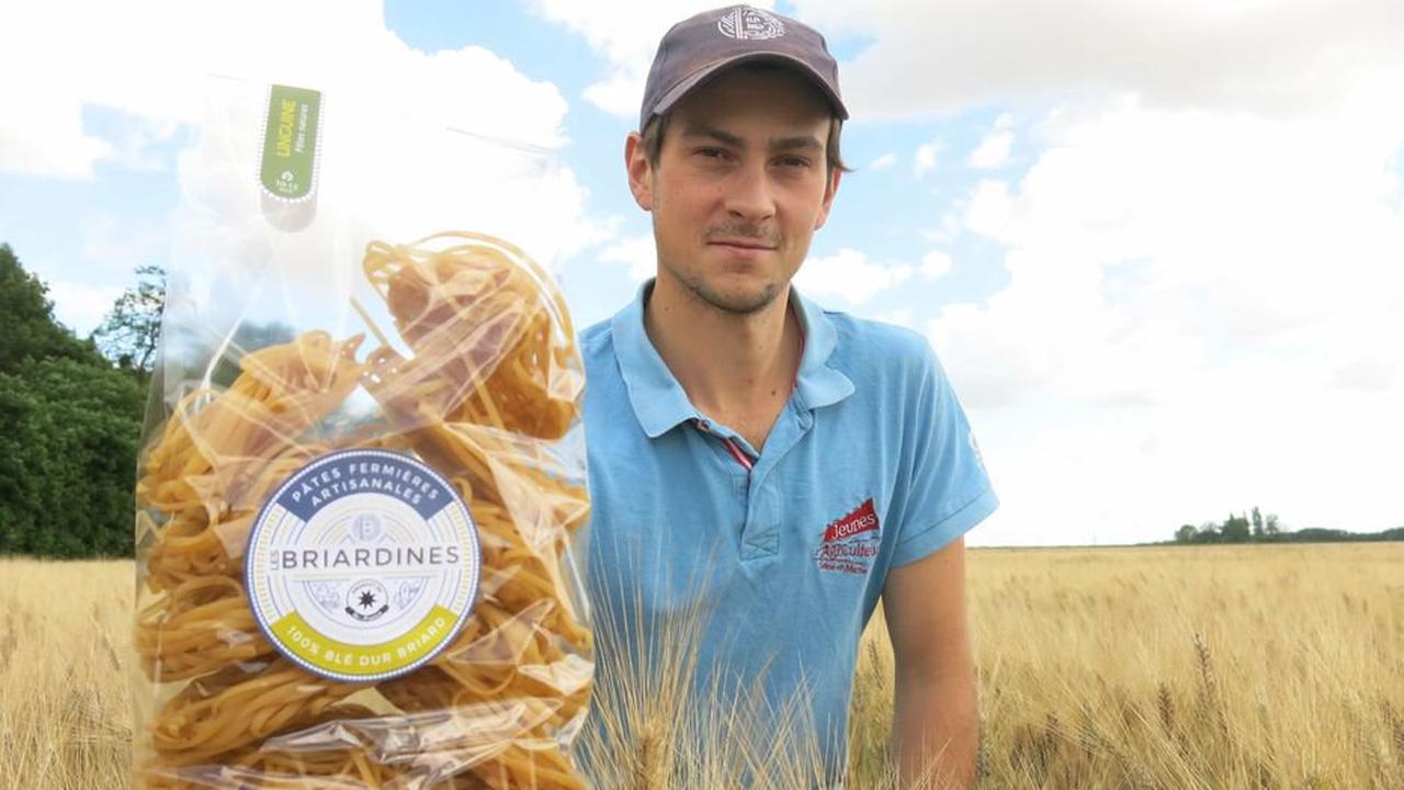 Nouveau visage des jeunes agriculteurs, Charles fabrique des tonnes de pâtes avec son blé dur