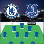 Chelsea Team News And Likely Line-ups Against Everton