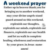 Prayer for the day