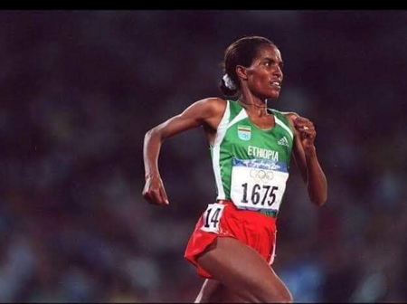 Meet the first African woman to win Olympic gold.