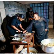 See What Pastor Lucy Was Caught Doing In The Kitchen That Got Peoples Reactions On Social Media