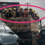 Kenyans React To Workers Spotted