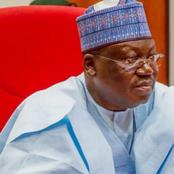 Lawan Reacts After Abduction Of Zamfara Schoolgirls