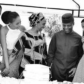 Checkout Beautiful Photos Of Yemi Osinbajo And His Family
