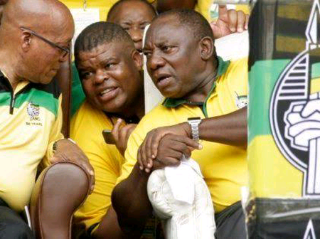 Chinese Man Has Implicated Former State Security Minister David Mahlobo In Corruption.