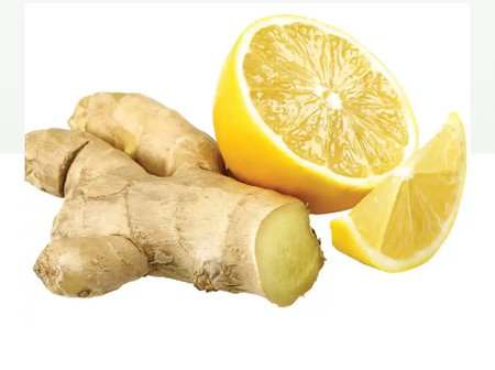 Mix ginger and lemon to relieve your stomach aches