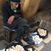Fiction: See How A Rich Woman Undermine An old Man Who Sells Egg