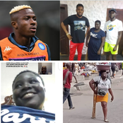 Nigerian footballer, Osimhen did not only give Mary Daniel a huge amount, see what he also did