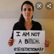 Feminist Tries To Change The Diction Definition Of Woman