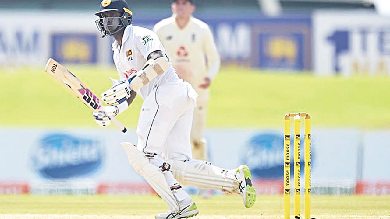 Mature Mathews shows SL the way
