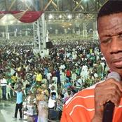 Pastor Adeboye Declares First Joint Physical Gathering For RCCG Members After Reopening Of Churches