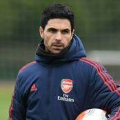 Mikel Arteta gives a positive review of under pressure Arsenal ace