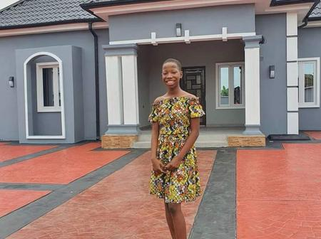 Little Comedian Emmanuella Builds Decent Home For Her Mum. (See Pictures)