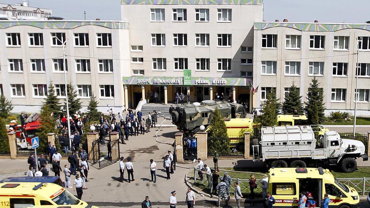 Au moins onze morts après une fusillade dans une école en Russie