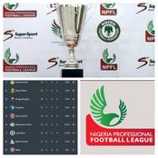 Nigerian Professional Football League: Game Week 13 Results & Table