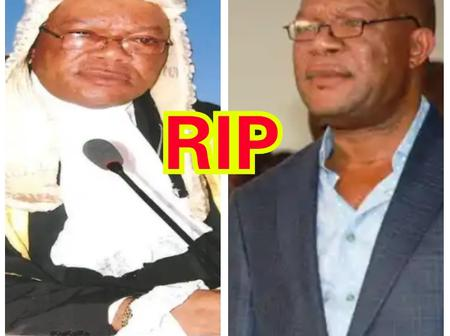 The Ex-Acting Governor Of Delta State That Died Today, See Throwback Photos Of When He Was In Office