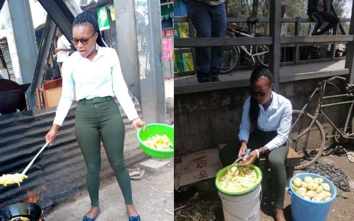 Viral 'chips mwitu' vendor warned by KURA - The Standard Entertainment