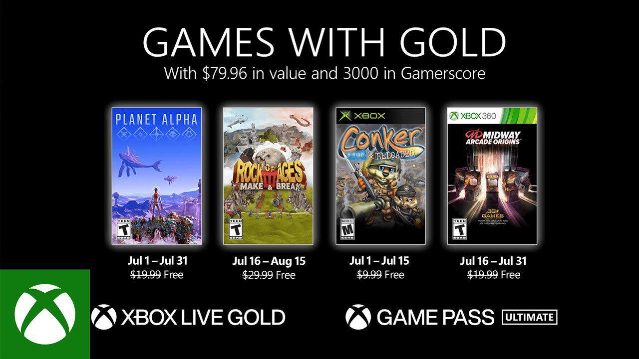 Gears 5 et Resident Evil dans les Games With Gold de février