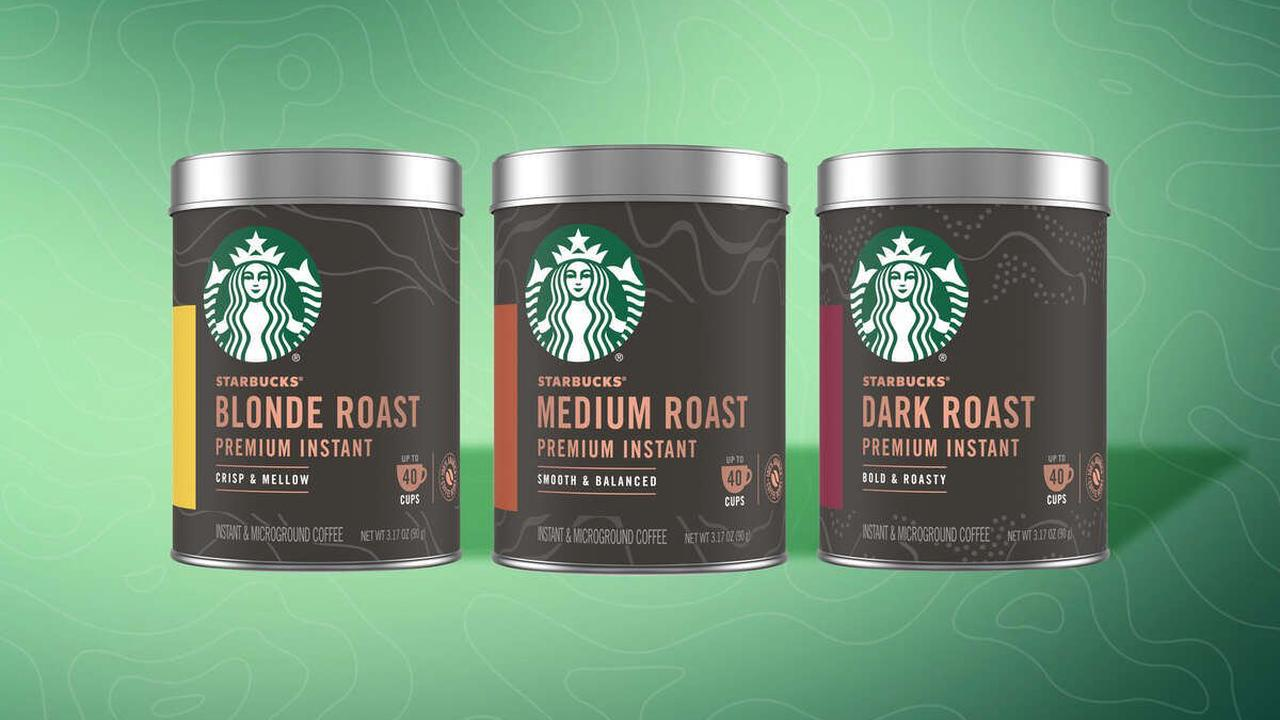 Starbucks Is Launching a Premium Version of Its Instant Coffee