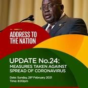 Four things that will be said by the president in his 24th address to the nation. (Fact)