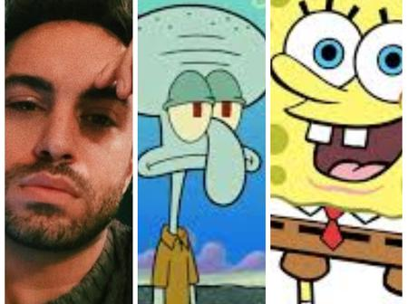 Reactions As A Guy Relates Popular Comic Movie 'SpongeBob' To Real Life Situation