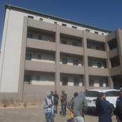 The Fleurhof flats is being occupied by nearby community residents without electricity