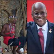 Powerful Witchdoctors Beg Magufuli to Allow Them Operate From Modern Hospitals and Cure COVID-19