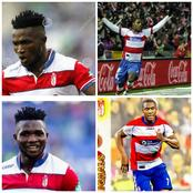 Throwback Photos Of Odion Ighalo And Isaac Success As Granada Players