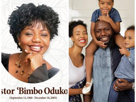 15 Years After Her Death, See Latest Photos of The Cute Grandchildren Pastor Bimbo Never Got to See