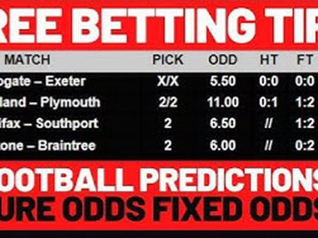 Sure Prediction For Friday 2nd April 2021