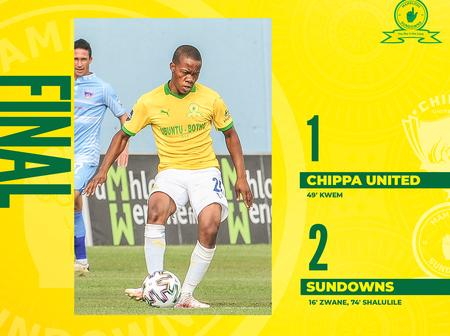 Mamelodi Sundowns extends the gap in PSL with their today's victory.