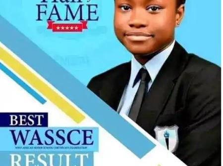 17-year-old girl, Chisom Chukwuneke who got 7 A1s in WAEC dies after a brief illness.