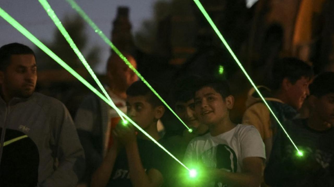 Beita (Territoires palestiniens) (AFP). Du bruit dans la nuit? Tactique palestinienne pour pousser des colons à partir