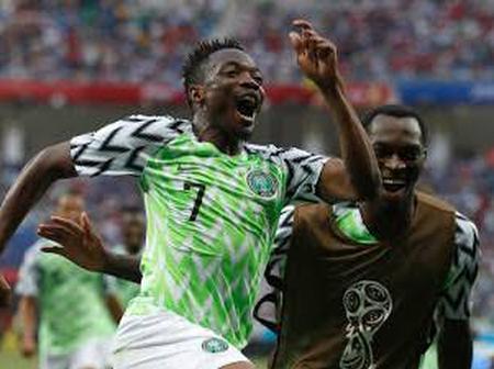 Nigeria Beats Egypt, Algeria In Latest FIFA Ranking (See List)