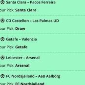 Six Well Analyzed Games to Bank On For High Returns Tonight i.e Lazio, Bayern Munich, Arsenal