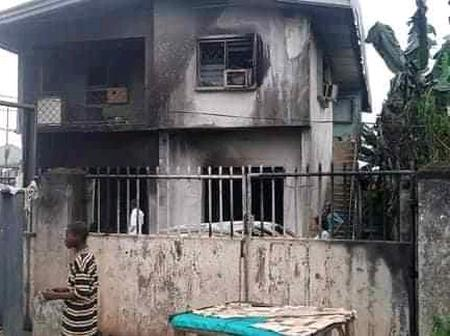 Check Out The Remains Of Major Properties Destroyed In Akwa Ibom State-AKBC Included
