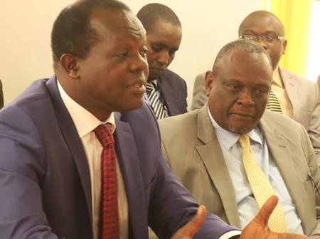 ODM MP Picks Up a Fight With Tuju, David Murathe, Reveals Their Biggest Mistake That Might Cost Them