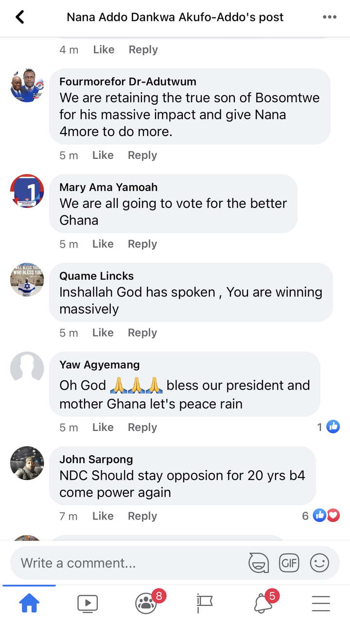 """fa3606826b88f972339c47739a0f0ef6?quality=uhq&resize=720 - """"We can't never be ungrateful"""": Ghanaians React To President Akufo-Addo's Nation Address Positively"""