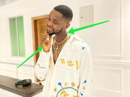 See what Fans noticed hours after Kizz Daniel uploaded his recent photos
