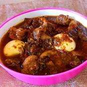 How to make Nigerian Ofada Sauce in easy steps. (Recipe)