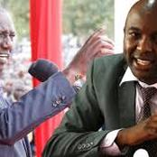 Kang'ata Explains Why He Ran Towards DP Ruto's Meeting In Murang'an Urging People To Avoid Propaganda